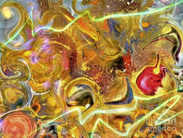 Digital Art - Happiness Is... by Kathie Chicoine