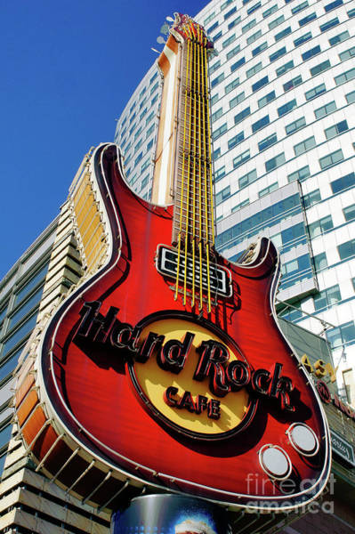 Brand Photograph - Hard Rock Cafe, Warsaw by Tom Gowanlock