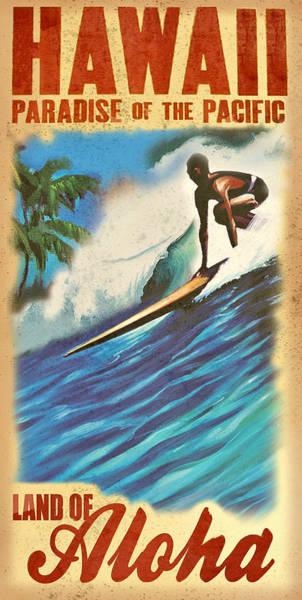 Pacific Digital Art - Hawaii by Long Shot