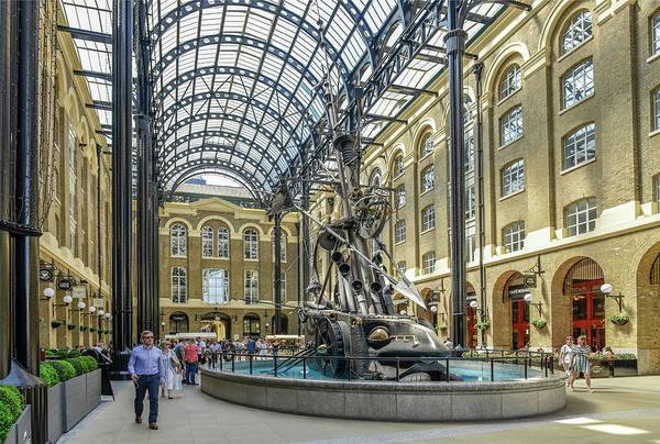 Hays Galleria Photograph - Hay S Galleria Shopping Arcade With Fountain The Navigators London England Great Britain by imageBROKER - Joko