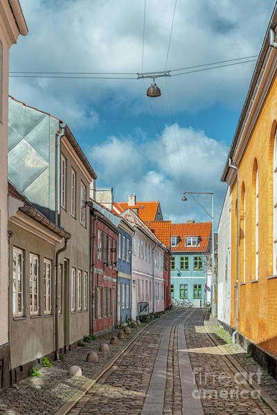 Wall Art - Photograph - Helsingor Narrow Street by Antony McAulay