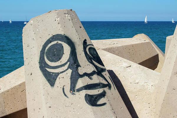 Waterbreak Wall Art - Photograph - Herzeliya Marina, Port City by Sharon Vaingast