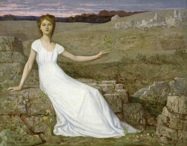 Painting - Hope by Pierre Puvis de Chavannes