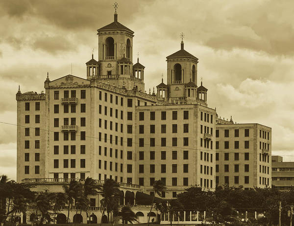 Wall Art - Photograph - Hotel Nacional - Havana, Cuba by Mountain Dreams