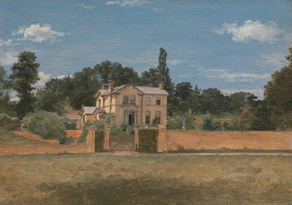 Painting - House In Woodbridge, Suffolk by Thomas Churchyard