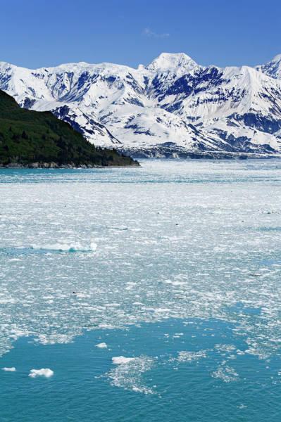 Gulf Of Alaska Photograph - Hubbard Glacier In Yakutat Bay, Gulf Of by Richard Cummins