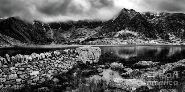 Wall Art - Photograph - Idwal Lake Snowdonia by Adrian Evans
