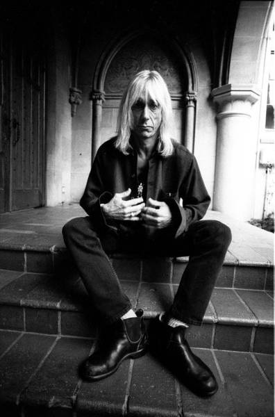 City Of Los Angeles Photograph - Iggy Pop Chateau Marmont Los Angeles by Martyn Goodacre