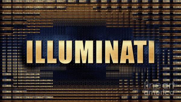 Wall Art - Digital Art - Illuminati by Raphael Terra