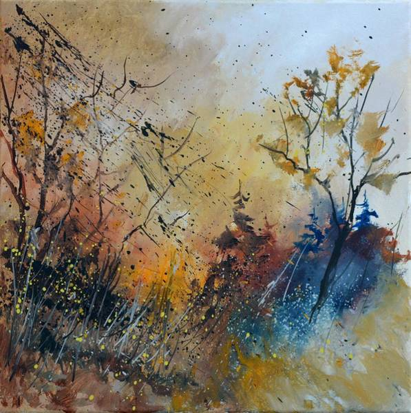 Wall Art - Painting - In The Wood by Pol Ledent