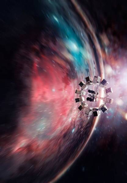 Wall Art - Digital Art - Interstellar by Geek N Rock