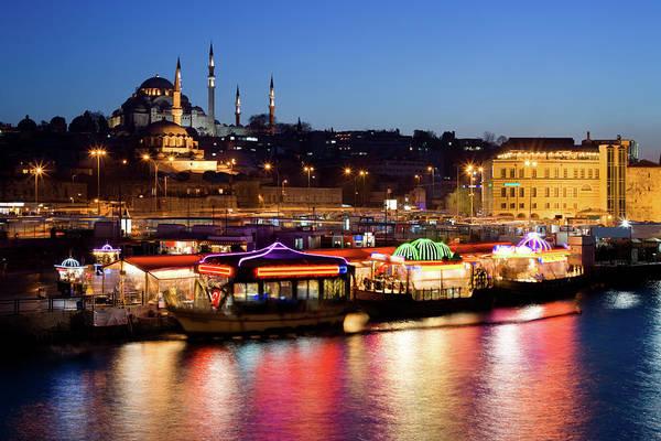 Suleymaniye Mosque Photograph - Istanbul, Turkey by Benedek