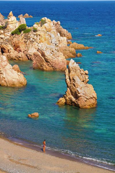 Sardinia Photograph - Italy, Sardinia, Cala Tinnari by Aldo Pavan