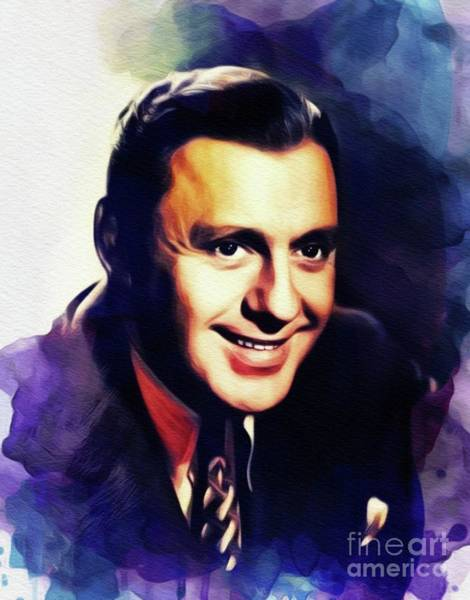 Benny Painting - Jack Benny, Vintage Entertainer by John Springfield