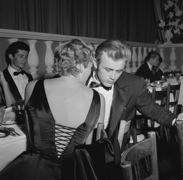 1931 Photograph - James Dean And Ursula Andress by Michael Ochs Archives
