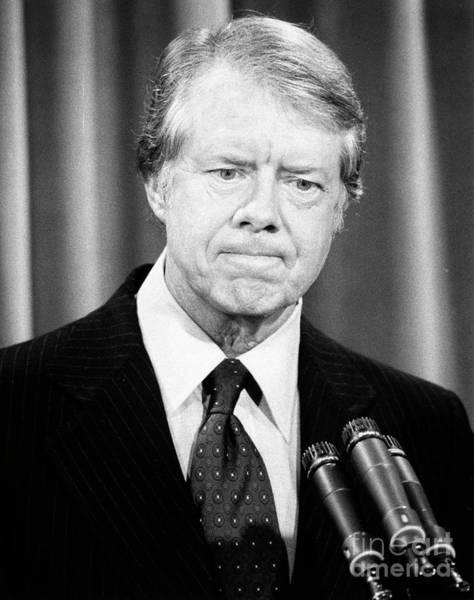 Wall Art - Photograph - Jimmy Carter by Granger