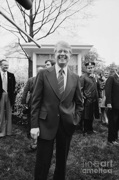 Photograph - Jimmy Carter by Marion Trikosko