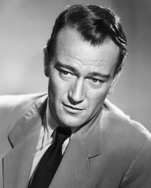 Adult Male Photograph - John Wayne by Hulton Archive