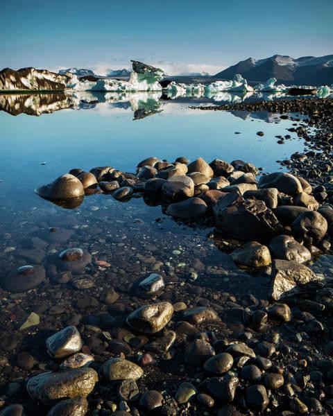 Photograph - Jokulsarlon Lagoon, Iceland by Peter OReilly