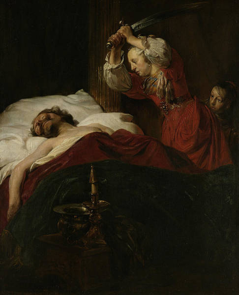 Painting - Judith And Holofernes by Jan de Bray