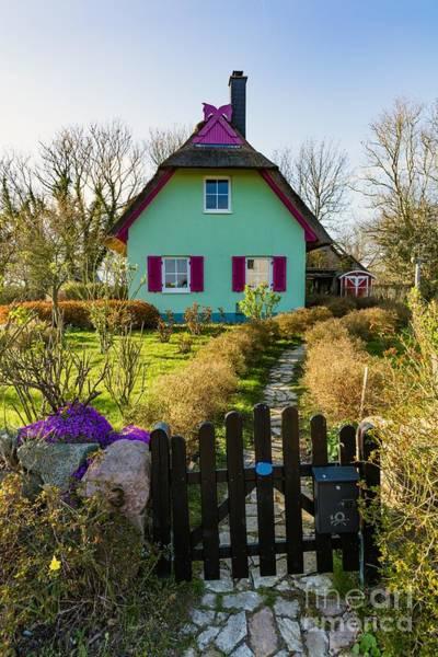 Wall Art - Photograph - Kap Arkona, Germany. Colorful Houses by Michal Bednarek