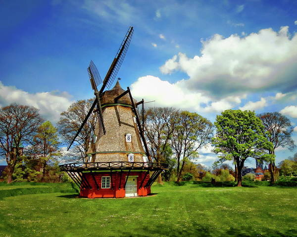 Photograph - Kastellet Windmill by Anthony Dezenzio