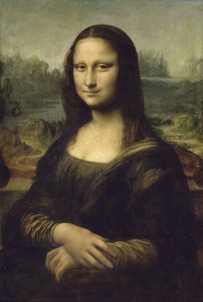 Wall Art - Painting - La Joconde  Portrait De Monna Lisa  by Leonardo da Vinci