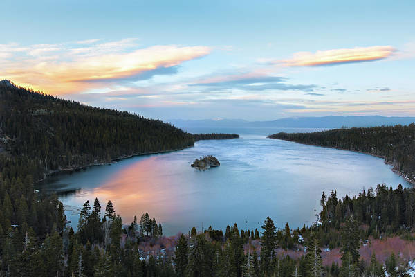 Lake Tahoe Photograph - Lake Tahoe by Ropelato Photography; Earthscapes