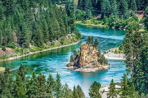 Photograph - Landscape Views Around Kootenai River National Park Montana by Alex Grichenko