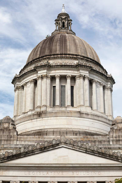 Wall Art - Photograph - Legislative Building, Olympia by Panoramic Images