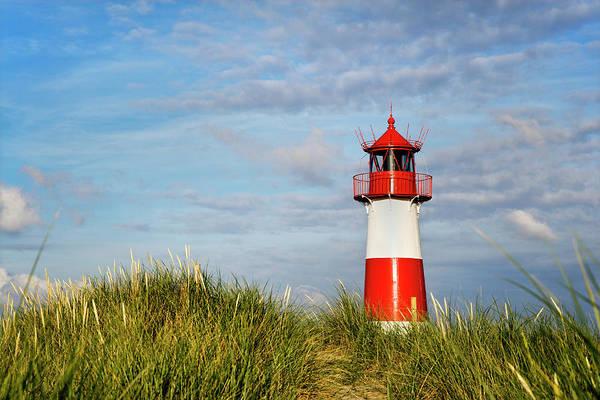 Wall Art - Photograph - Lighthouse List East, Ellenbogen, Sylt by Sabine Lubenow / Look-foto