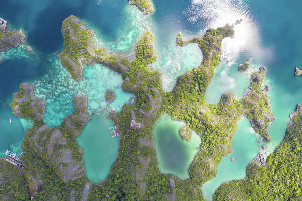 Photograph - Limestone Islands Rise by Ethan Daniels
