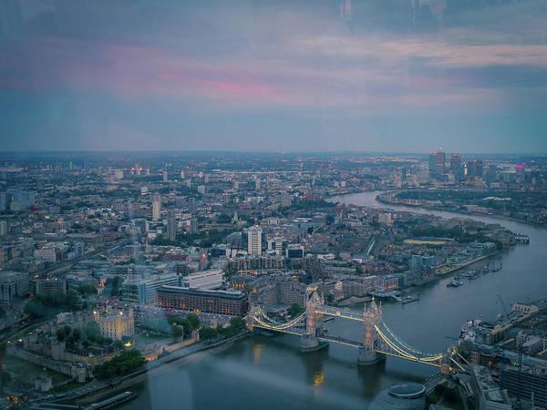 Canary Wharf Photograph - London by Camille Blais