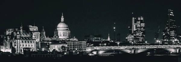 Wall Art - Photograph - London Skyline by Martin Newman