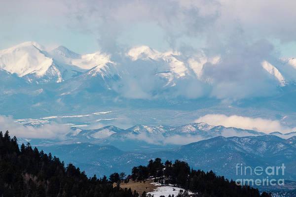 Photograph - Majestic Snowcapped Sangre De Cristo by Steve Krull