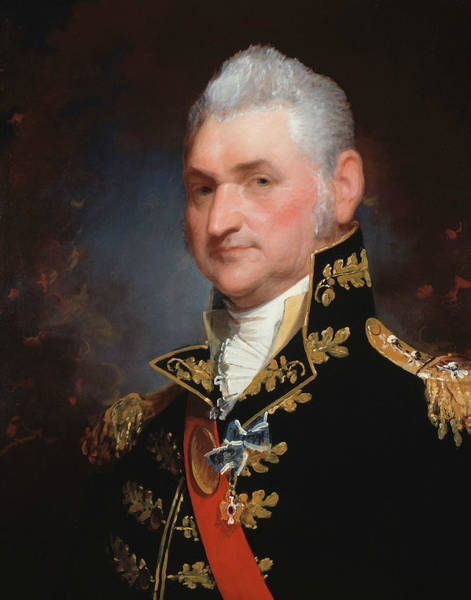Wall Art - Painting - Major-general Henry Dearborn by Gilbert Stuart