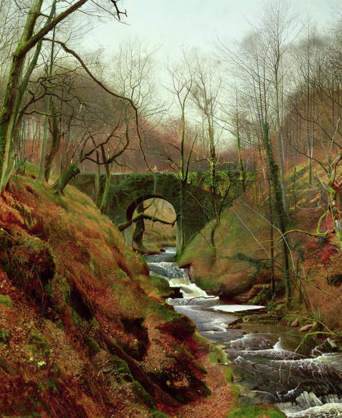Wall Art - Painting - March Morning by John Atkinson Grimshaw