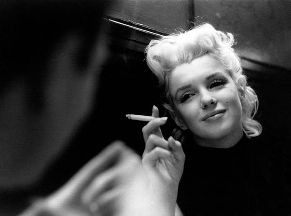 Marilyn Monroe Photograph - Marilyn Candid Moment by Michael Ochs Archives
