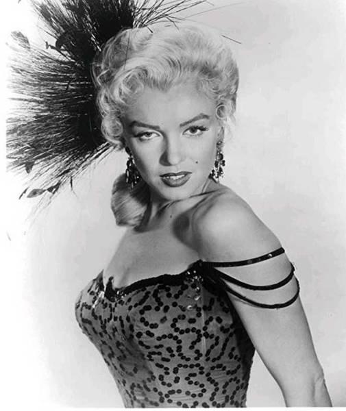 Wall Art - Photograph - Marilyn Monroe Showgirl  by James Turner