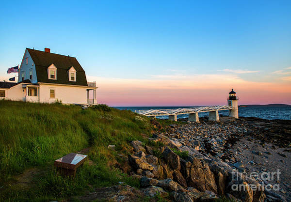Wall Art - Photograph - Marshall Point Lighthouse by Diane Diederich