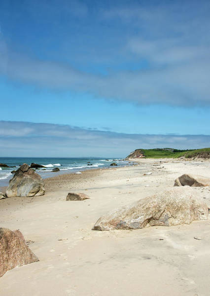 Wall Art - Photograph - Martha's Vineyard - Moshup And Aquinnah Beach by Brendan Reals