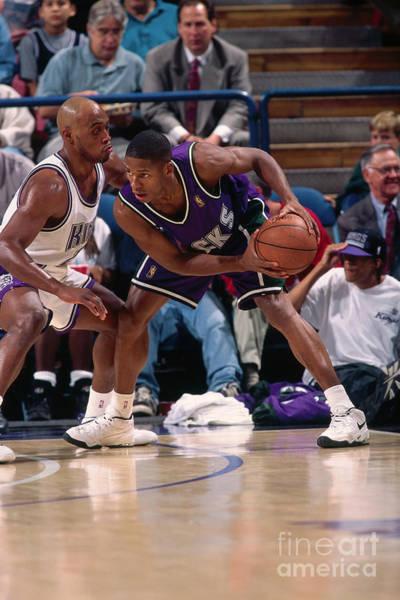 Photograph - Milwaukee Bucks V Sacramento Kings by Rocky Widner
