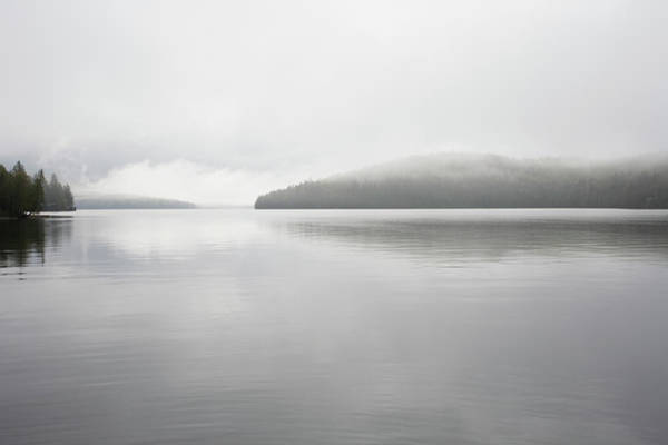 Adirondacks Photograph - Mist On Lake Placid by Nine Ok