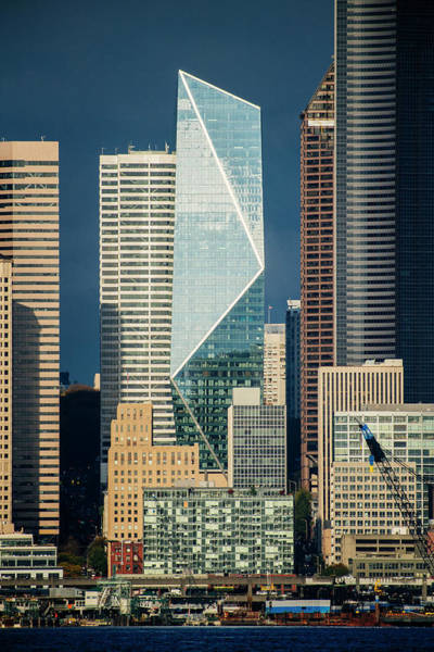 Wall Art - Photograph - Modern Architecture In City, Seattle by Panoramic Images