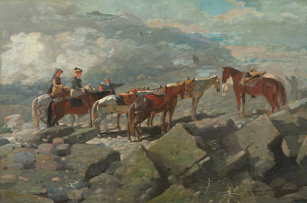 Wall Art - Painting - Mount Washington by Winslow Homer