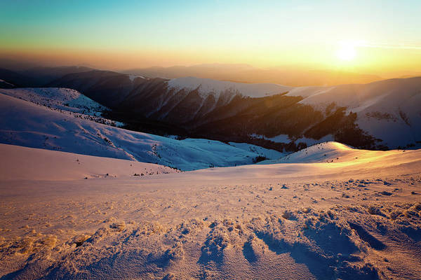 Residential Area Photograph - Mountain Sunshine by Yourapechkin