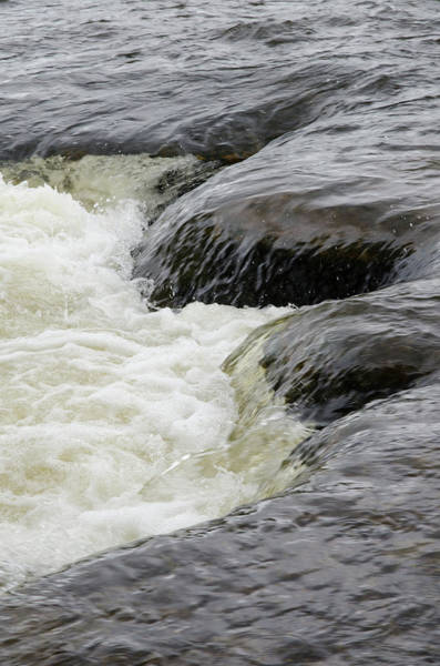 Photograph - Moving Water On The Mississippi River In Pakenham by Rob Huntley