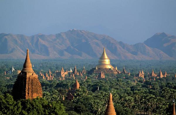 Wall Art - Photograph - Myanmar Burma, Mandalay Division, Bagan by Seux Paule / Hemis.fr