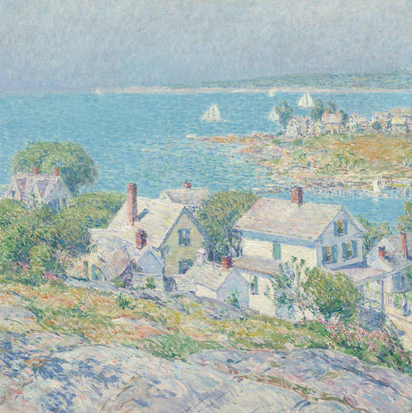 Wall Art - Painting - New England Headlands by Childe Hassam