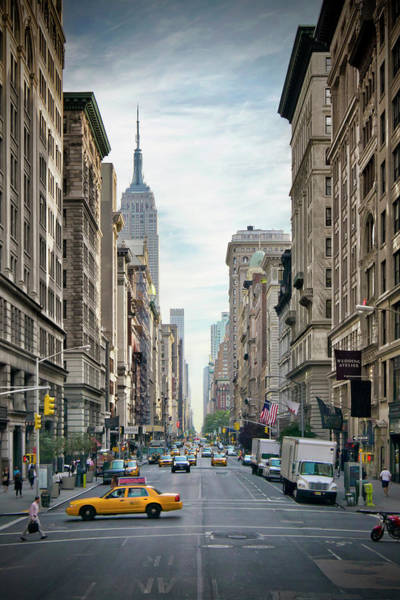 Wall Art - Photograph - New York City 5th Avenue  by Melanie Viola